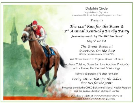Dolphin Derby with Tiki Bar Band